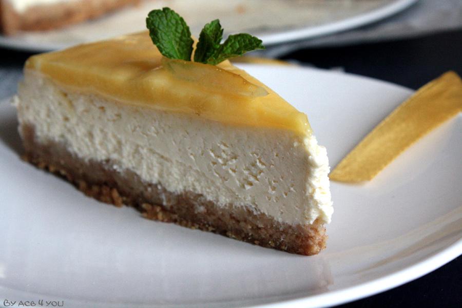 Cheese-Cake au lemon curd