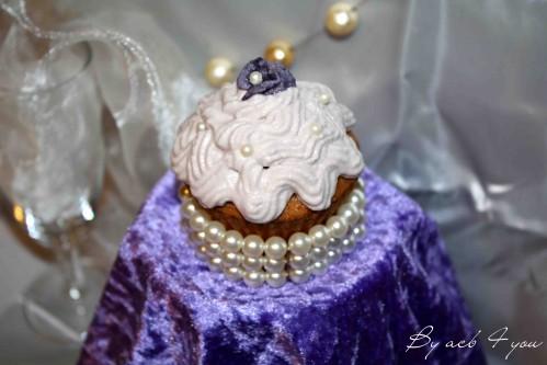 cupcake chic à la violette 1