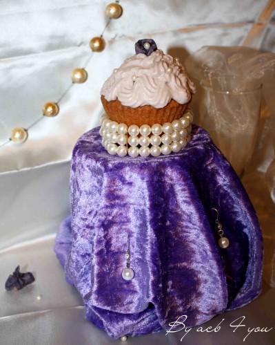 cupcake chic à la violette 2