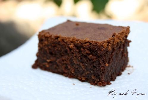 Fondant au chocolat et praliné