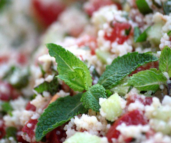 Salade orientale façon taboulé