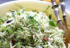 Salade de courgettes au boulgour