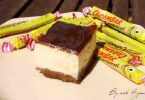 Cheesecake au spéculoos et au carambar