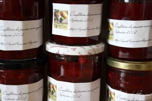 confiture de prune aux agrumes 1