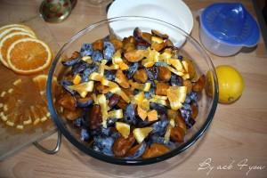 confiture de prune aux agrumes 2