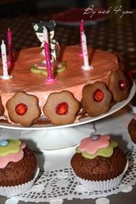 girly cake au sirop de fraise 2