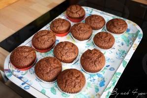 muffin fleur au chocolat 5