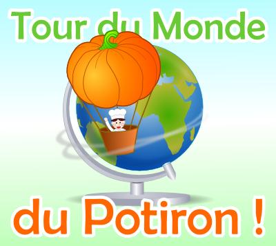 Défi Tour du monde du potiron