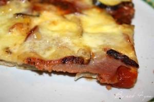pizza bacon Saint-Nectaire 2