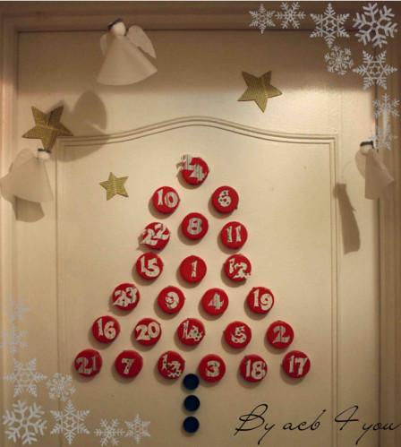 calendrier Avent bouchon 2012 e