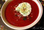Bortsch la soupe russe à la betterave