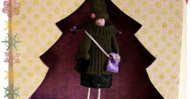 La poupée déco de Noël