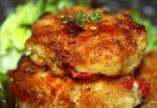 Croquettes de pomme de terre au poivron et féta