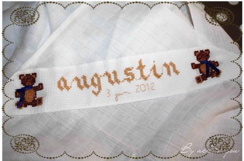 Doudou Augustin (cadeau de naissance)