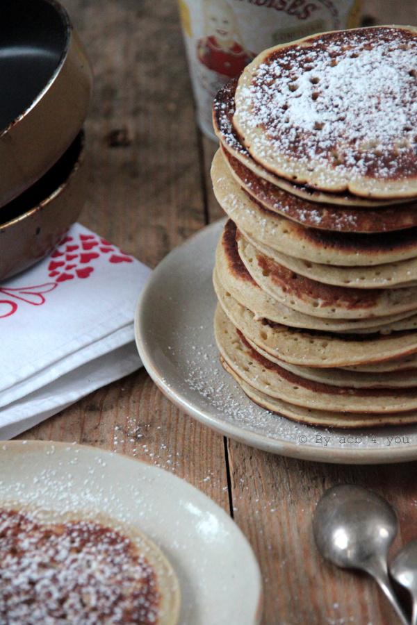 Pancake bio à la banane
