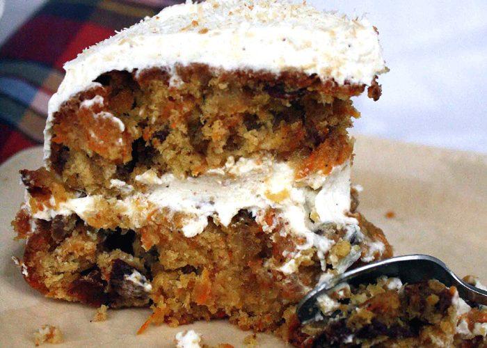 Carrot cake, le gâteau à la carotte des USA