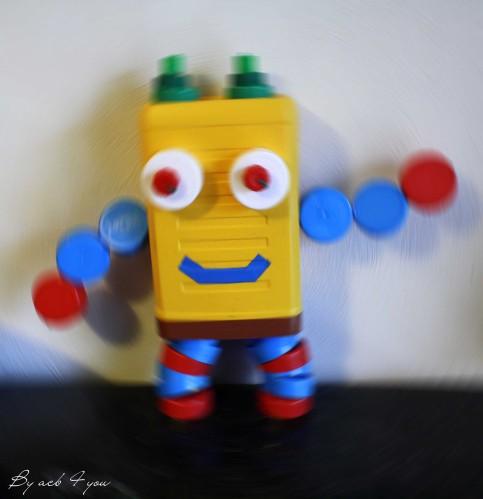 nouveau style de 2019 couleur n brillante juste prix Robots rigolos fait maison