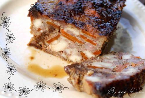 terrine de poulet aux 4 épices miel