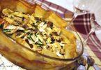 Croustillant de courgettes au camembert