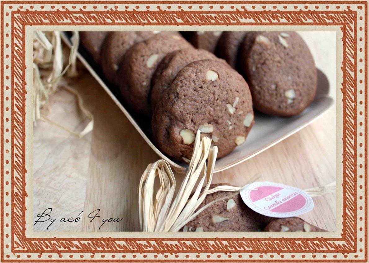Cookies à la cannelle et aux noisettes
