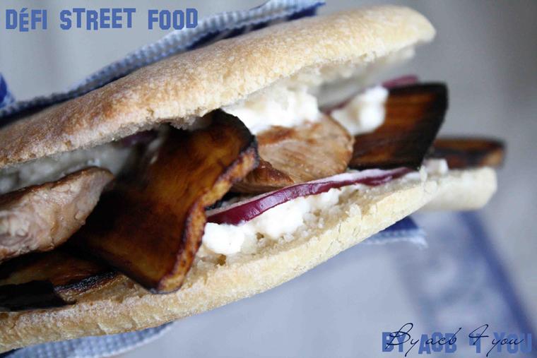 Sandwich grec, une autre manière de manger de l'agneau pour Pâques