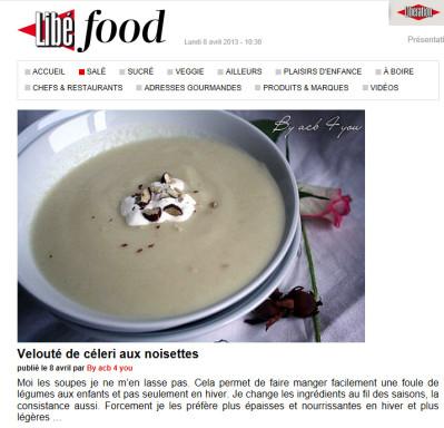 soupe au céleri