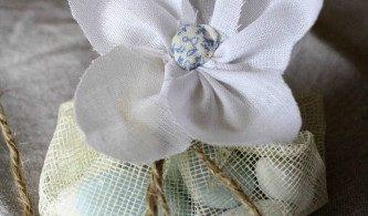 Ballotin de dragées fleur (D.I.Y)