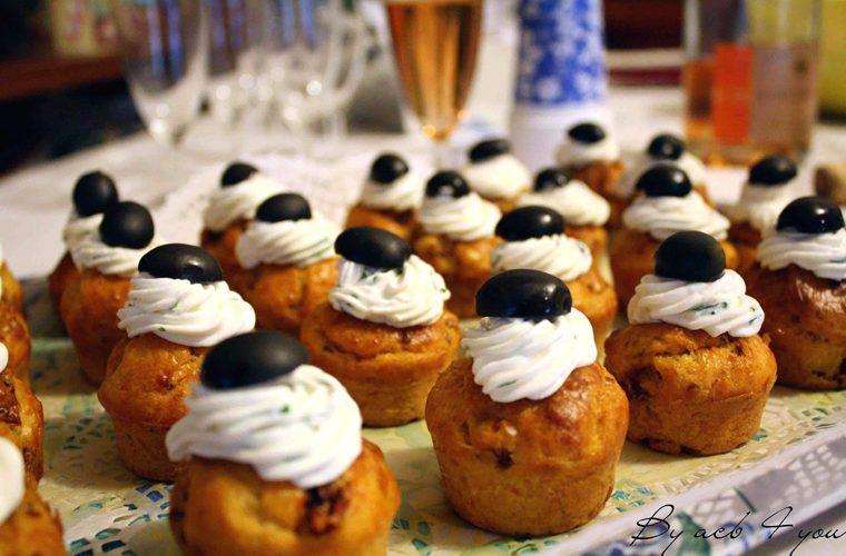 Cupcake « provençal » à la tomate séchée