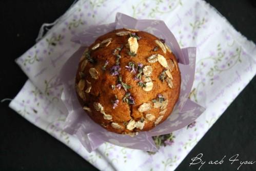 muffin miel fleur de thym a