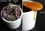 Muffin à la fleur de thym, miel et avoine