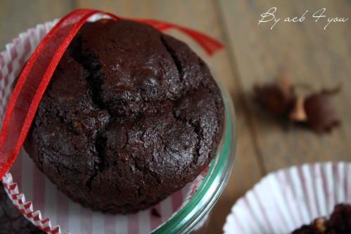 muffin vegan choco noisettes b