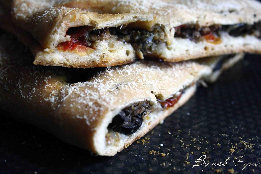 Fougasse sardine et olive
