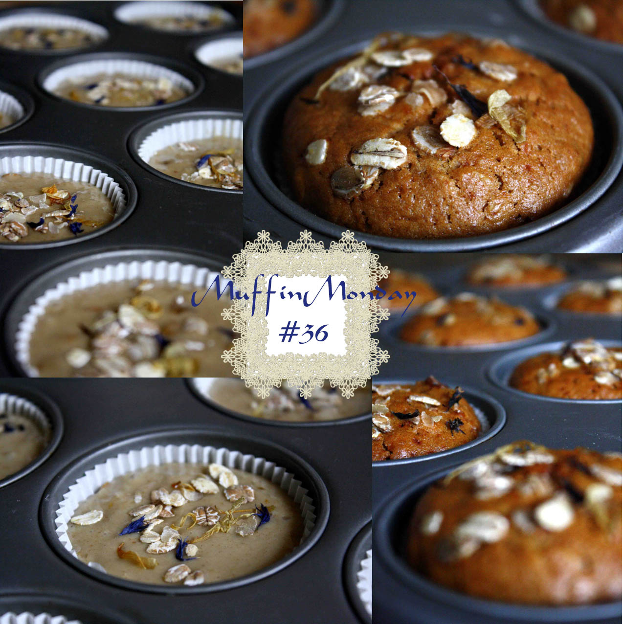 Muffin vegan au thé Russian earl grey