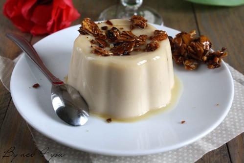 Panna cotta au caramel à la fleur de sel