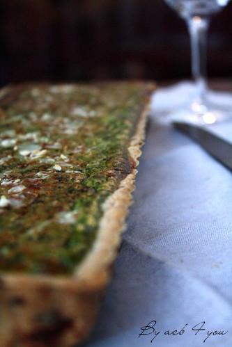 tarte épinard ricotta parmesan d
