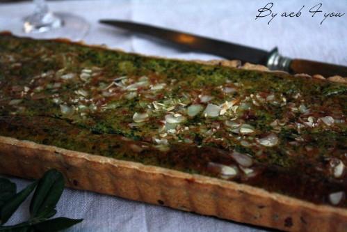 tarte épinard ricotta parmesan e