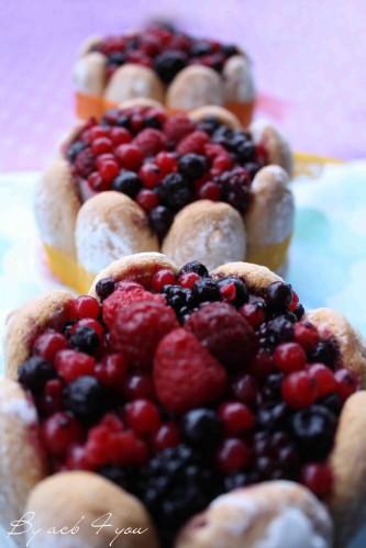 charlotte aux fruits rouges c