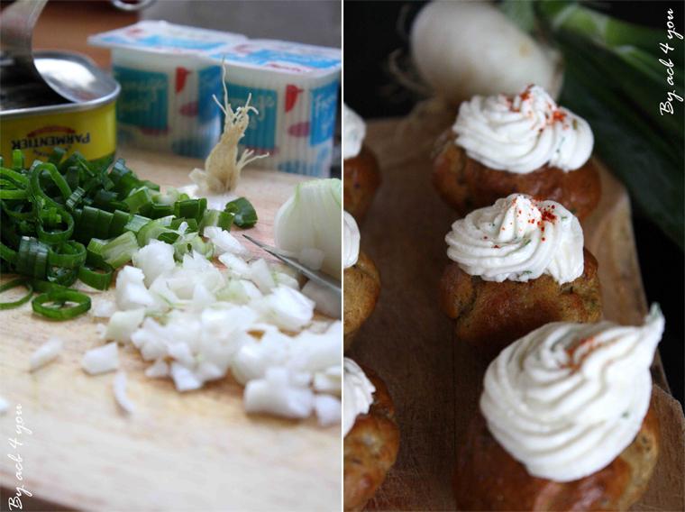 Cupcakes à la sardine et piment d'Espelette