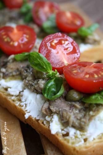 tartine chèvre sardine b