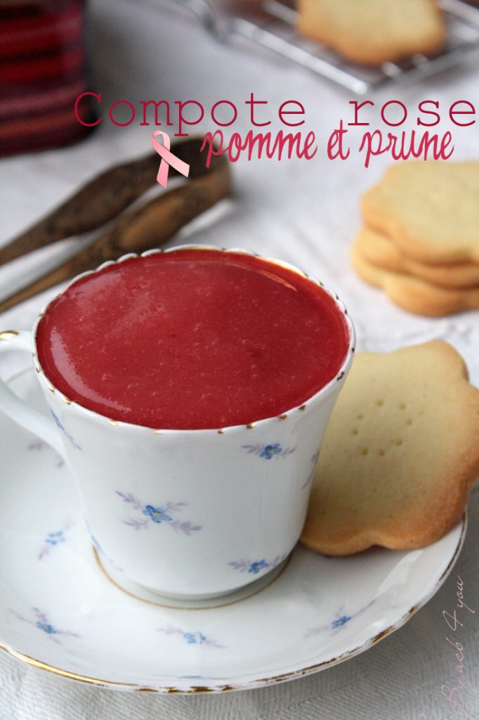 compote pommes prunes