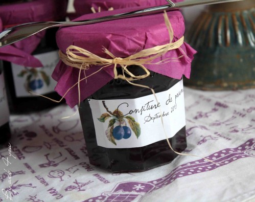 confiture de prunes c