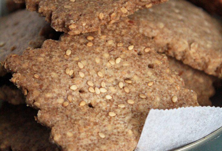 Biscuits à l'épeautre et sésame