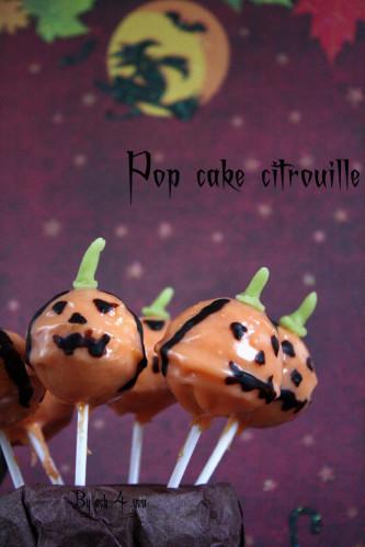 pop cake citrouille a