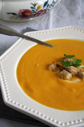soupe de carrotes panais a