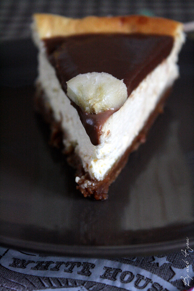 Cheese-cake banane et carambar