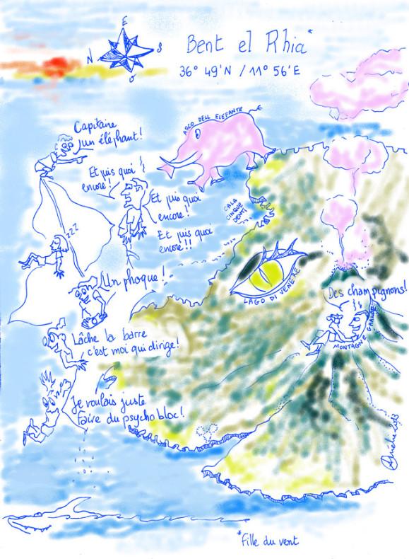 pantelleria caricature