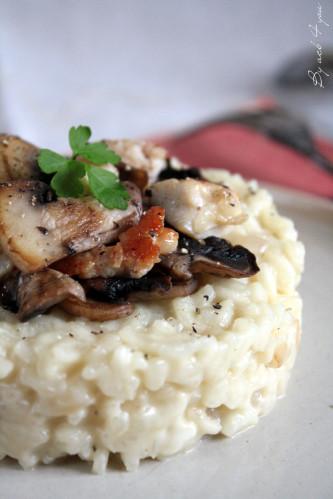 risotto gorgonzola poulet 2