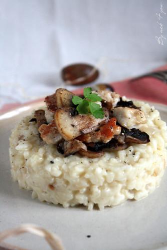 risotto gorgonzola poulet 3