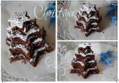 Gâteau choco noix sapin CARTE