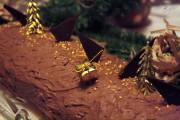 bûche poire badiane chocolat e